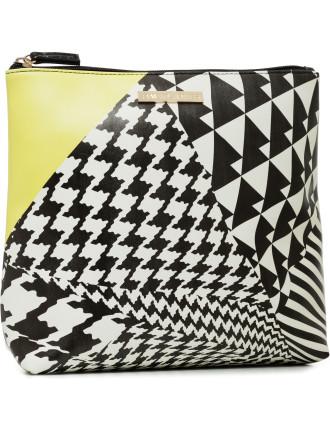 Houndstooth Large Cos Bag