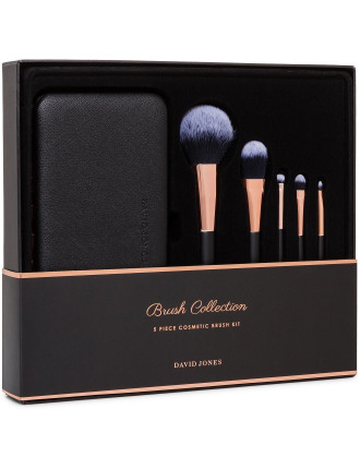 5 PIECE COSMETIC BRUSH KIT
