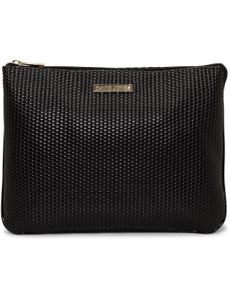 DAVID JONES COSMOPOLITAN LGE TRIPLE GUSSET BEAUTY BAG