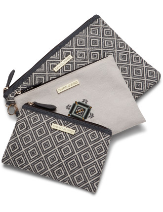 Aztec Flat 3 Pce Cos Bag