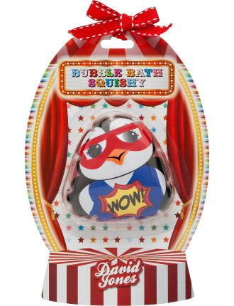 Carnival Capers Bubble Bath Squishy - Super Hero