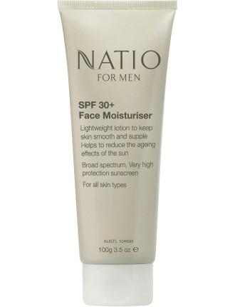 Men's SPF30+  Face Moisturiser 100g