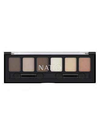 Natural Nudes Mineral Eyeshadow Palette