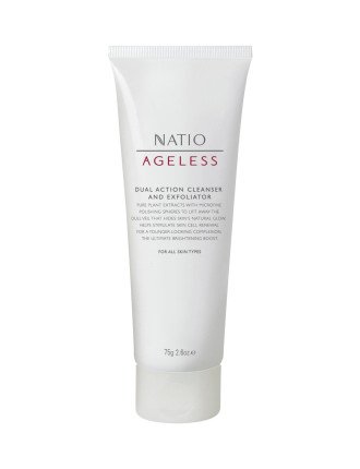 Ageless Dual Action Cleanser and Exfoliator 75g