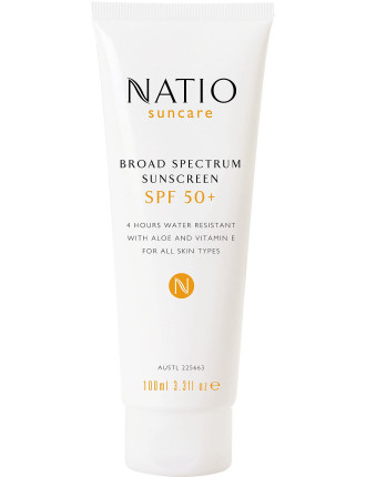 Broad Spectrum Sunscreen Spf 50+