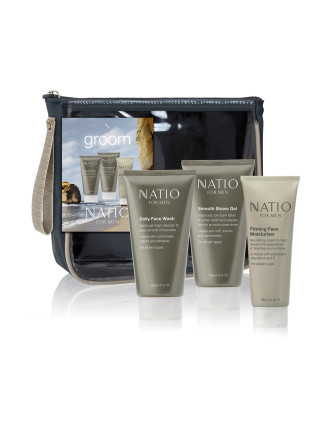 Men's Travel Skincare Kit - Groom