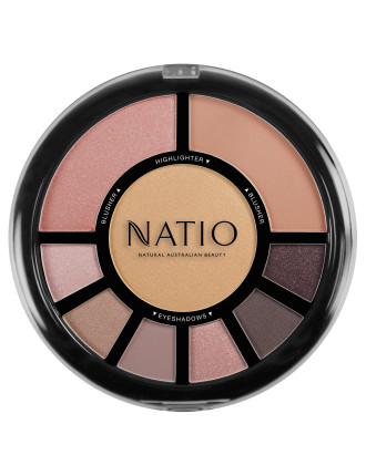 Nature Face & Eye Palette - Illuminate
