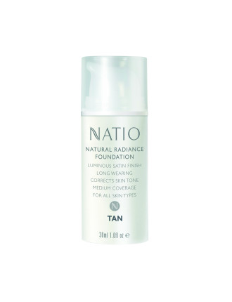 Natural Radiance Foundation- Tan