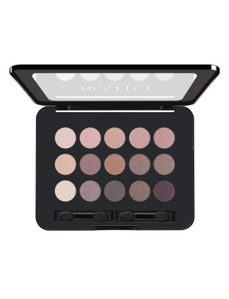 Natural Shades Eyeshadow Palette - Rosebud