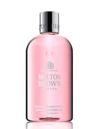 Delicious Rhubarb & Rose Bath & Shower Gel