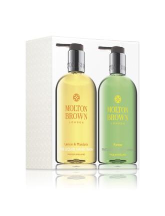 Lemon & Mandarin And Puritas Hand Wash Set