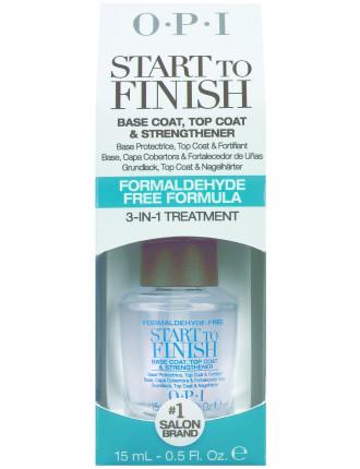 Start to Finish - Formaldehyde-Free