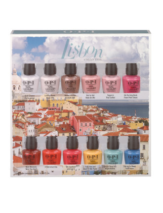 NAIL LACQUER MINI 12 PACK - LISBON COLLECTION