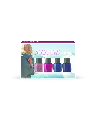 Nail Lacquer - Iceland Collection Mini 4 Pack