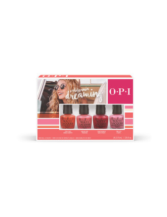 California Dreaming Collection Nail Lacquer 4 Pack