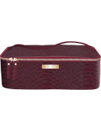 BARCELONA TRAIN CASE - PLUM PANTONE 504 $54.95