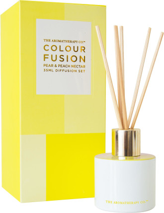 Colour Fusion Diffuser 35ml - Pear & Peach Nectar