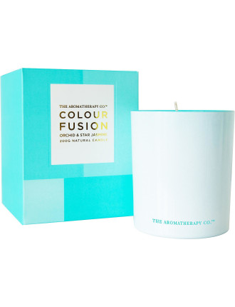 Colour Fusion Candle 200g - Orchid & Star Jasmine