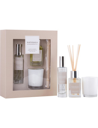 Naturals Home Scent Gift Set - Orange & Jasmine
