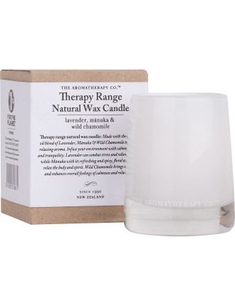 Therapy Votive Candle - Lavender, Manuka & Wild Chamomile