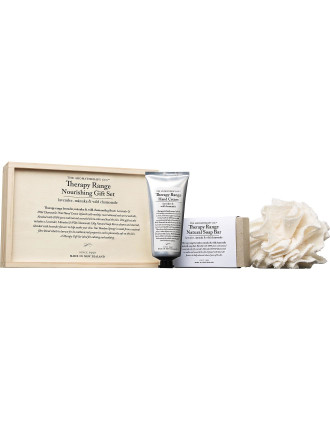 Therapy Wooden Gift Set - Lavender & Wild Chamomile