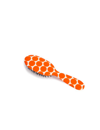 Orange Polka Dots Large