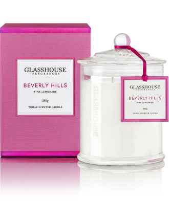 Beverly Hills Triple Scented Candle