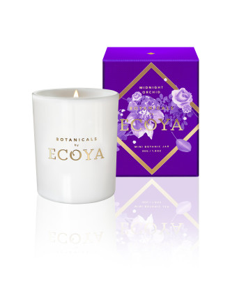 Ecoya Mini Botanic Jar - Midnight Orchid
