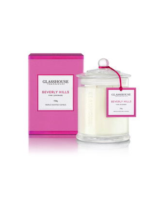 Glasshouse Beverly Hills - Pink Lemonade Luxury Candle