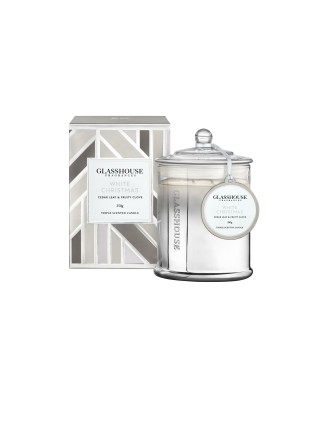 Glasshouse White Christmas Triple Scented Candle