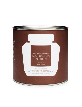 The Super Elixir Nourishing Protein Chocolate Tin