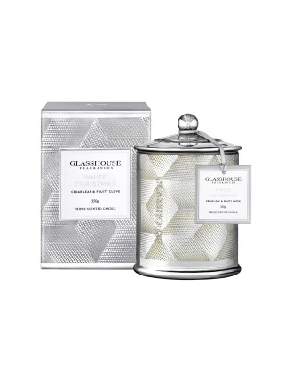 White Christmas 350g Triple Scented Candle