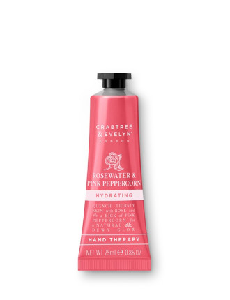 Rosewater & Pink Peppercorn Hand Therapy 25ml