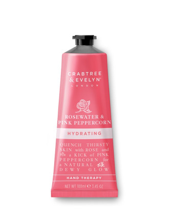 Rosewater & Pink Peppercorn Hand Therapy 100ml