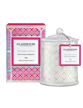 Casablanca Triple Scented 350g Candle