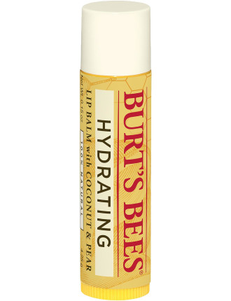 Hydrating Lip Balm with Coconut and Pear
