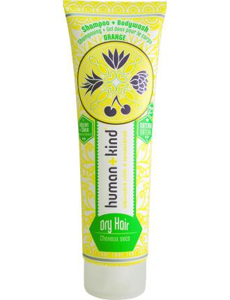 All-In-One Shampoo+Body Wash Dry Hair 250ml