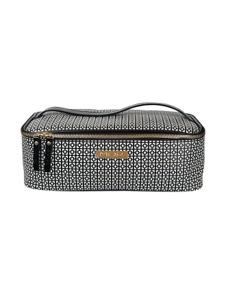Barcelona Zip Up Train Case Large