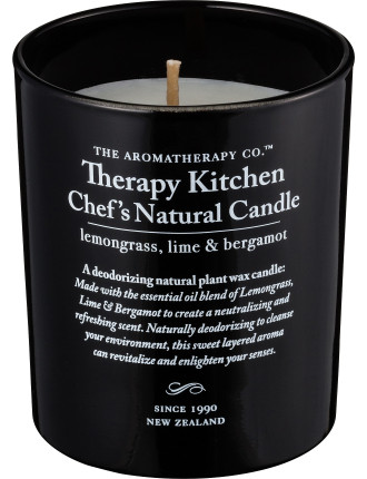 Lemongrass, Lime & Bergamot Chef's Candle 200g