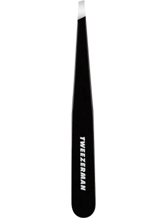 Bushy Brows Slant Tweezer Black