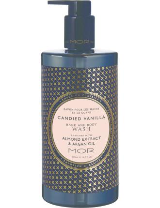 Hand & Body Wash 500ml Candied Vanilla