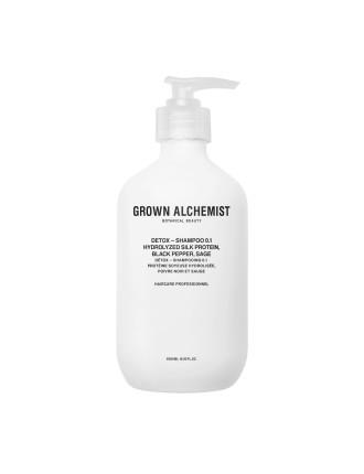 Shampoo 0.1 ¿ Detox 500mL