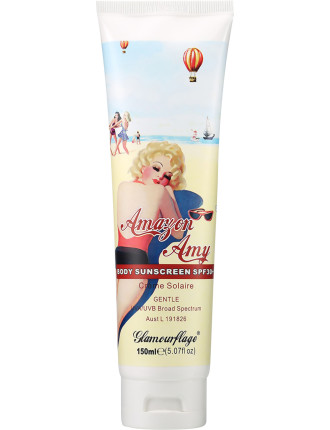 Amazon Amy Body Sunscreen SPF 30+ (Gentle) 150ml