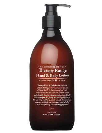 Therapy Hand & Body Lotion, Cocoa, Vanilla & Cassia