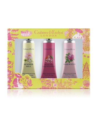 Floral Hand Therapy Trio