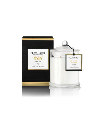 Arabian Nights - White Oud - Triple Scented Candle