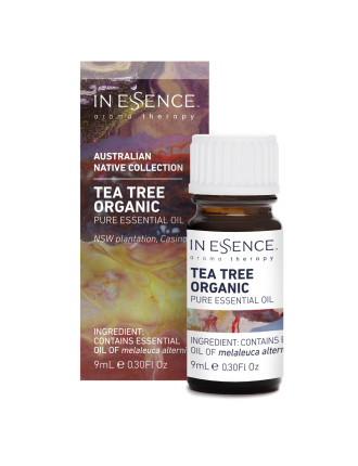 Australian Natives Tea Tree Organic 9ml Boxed
