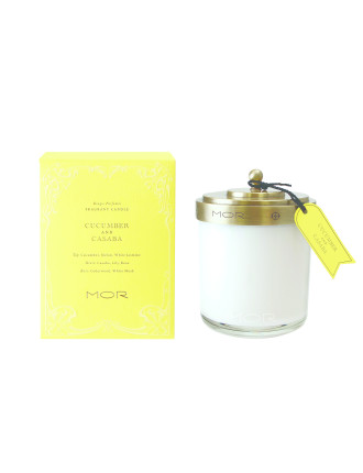 Mor Fragrant Candle 380g Cucumber & Casaba