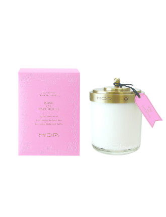 Mor Fragrant Candle 380g Rose & Patchouli