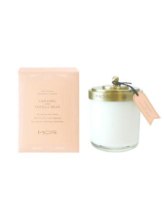 Mor Fragrant Candle 380g Caramel & Vanilla Bean